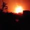 شاهد انفجار منشأة صواريخ في فج عطان بصنعاء