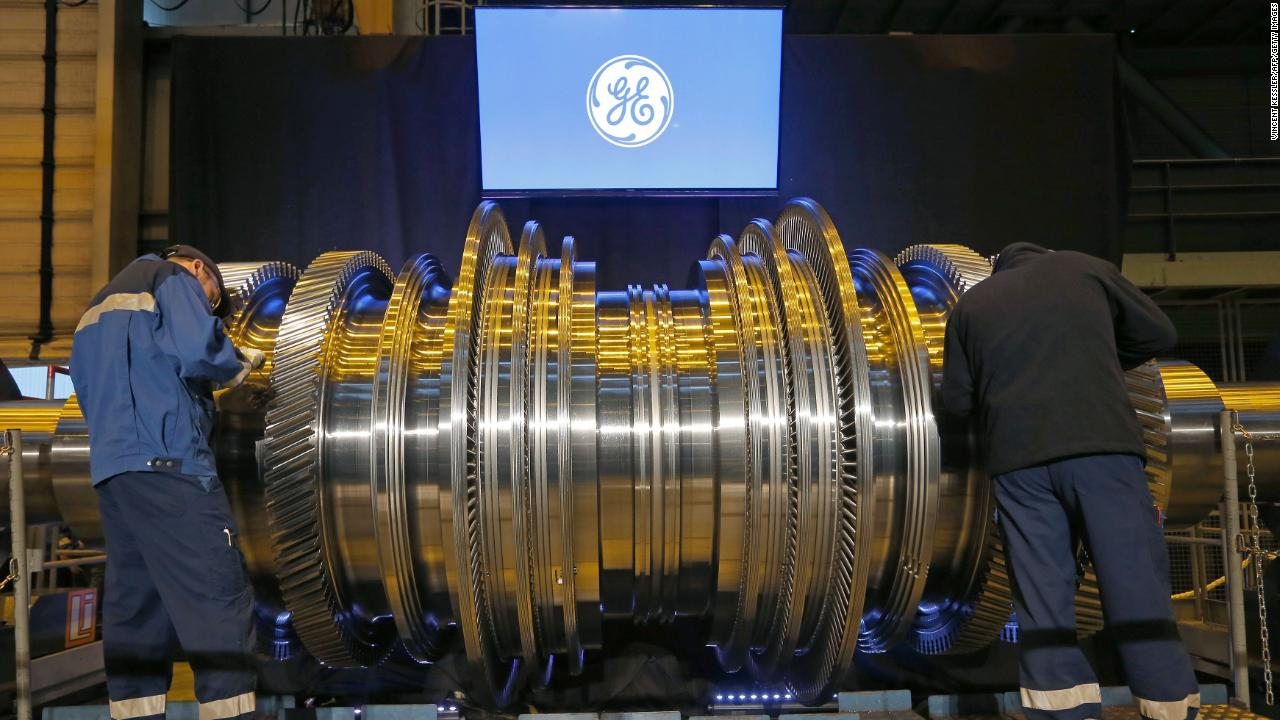 General Electric GE worker