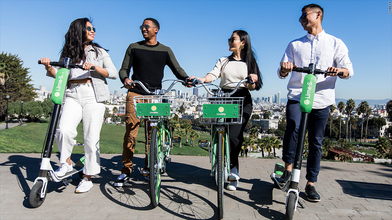 electric scooters new bikeshare