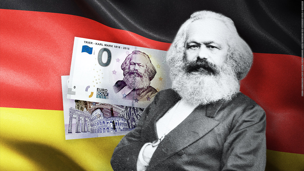 karl marx money germany