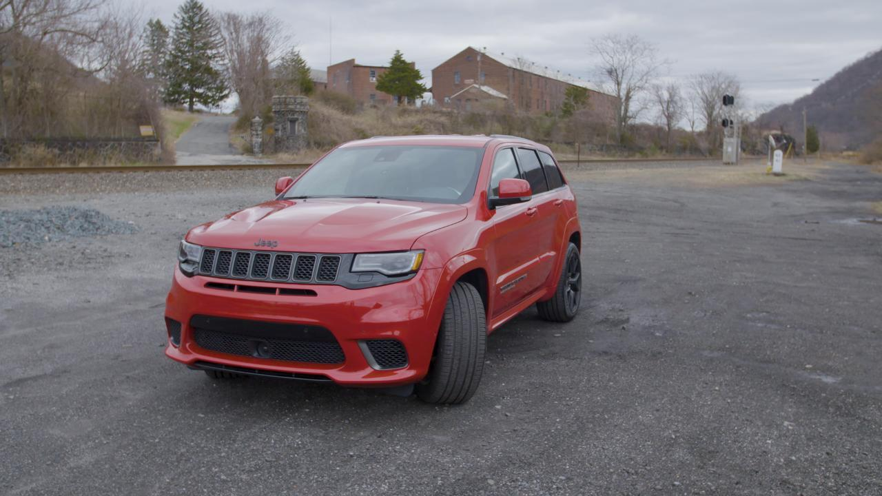 Jeep Grand Cherokee Trackhawk Clean