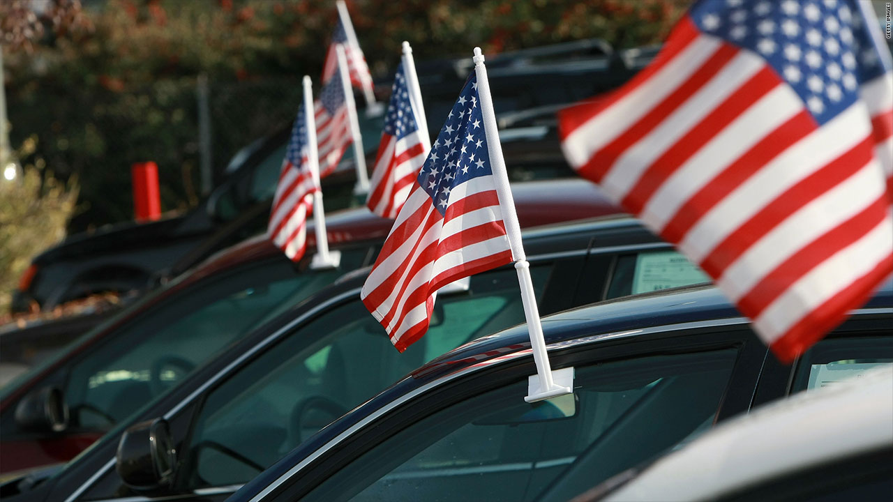 auto tariffs america car dealership flad usa