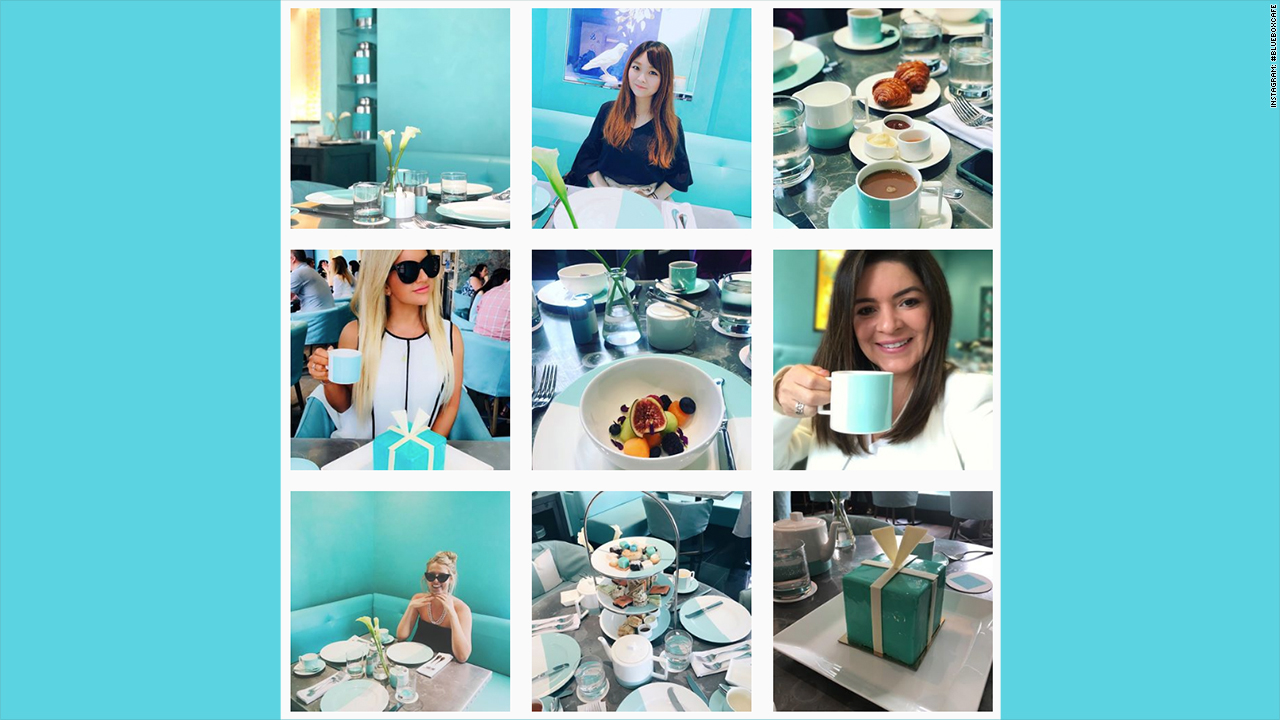tiffanys blue box cafe