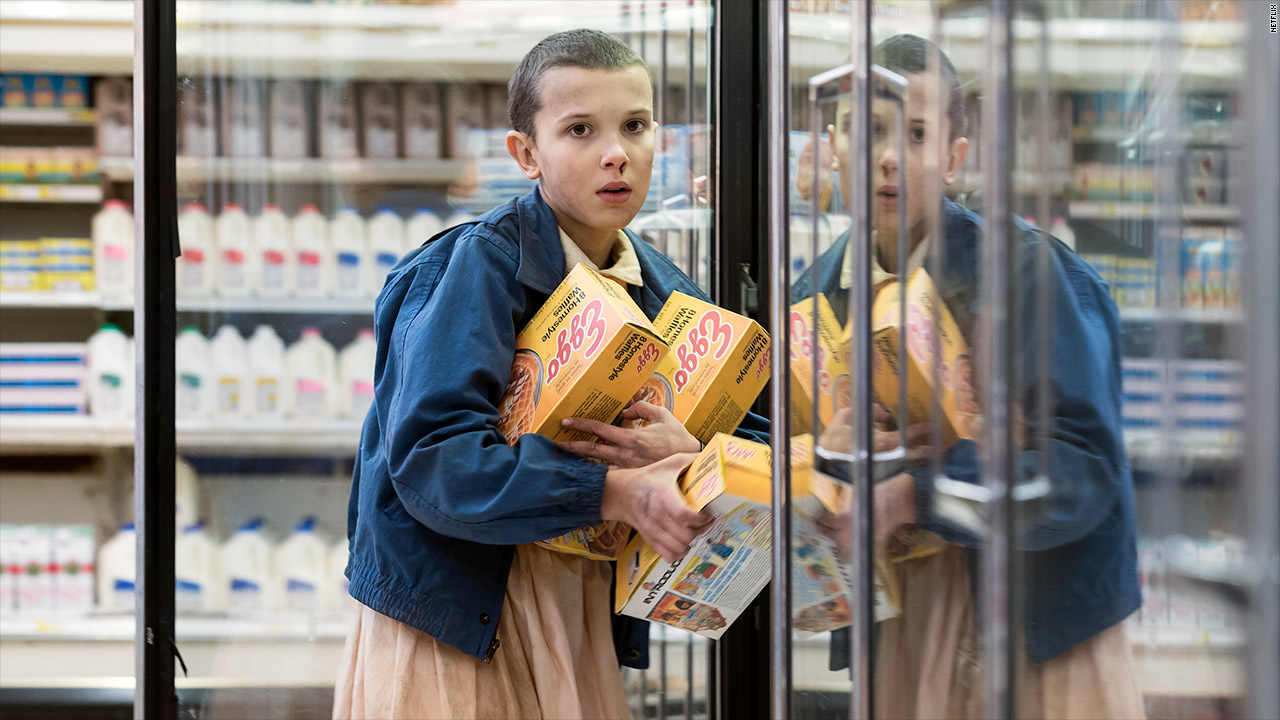 eggo stranger things sales eleven netflix