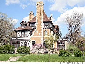 Cheap Mansions For Sale In Usa Inspiration Affordable Mansions For Sale  Toledo Ohio 1  Cnnmoney Design Inspiration