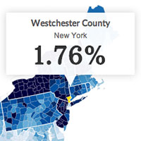 Property Taxes How Does Your County Compare CNNMoneycom - Property tax map us