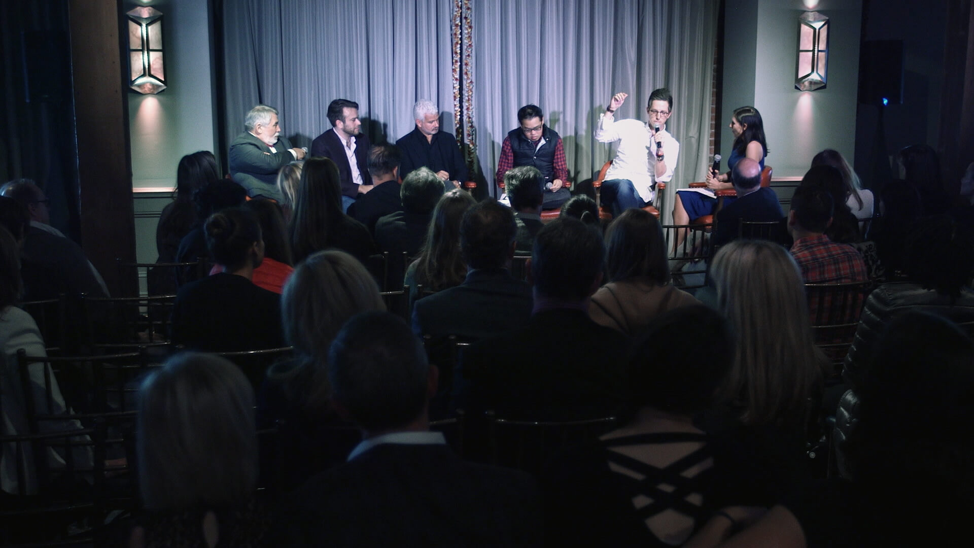 A group of entrepreneurs and investors gathered at a members-only club in San Francisco to talk about mental health.