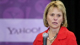 Yahoo rises as Bartz departs