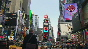 Green New Year's Eve in Times Square