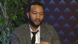 John Legend sings for a better world