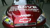 Jeff Gordon races to end hunger