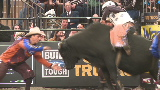My job fighting bulls at the rodeo