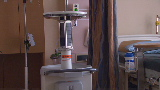 Hospital battles infections with robots