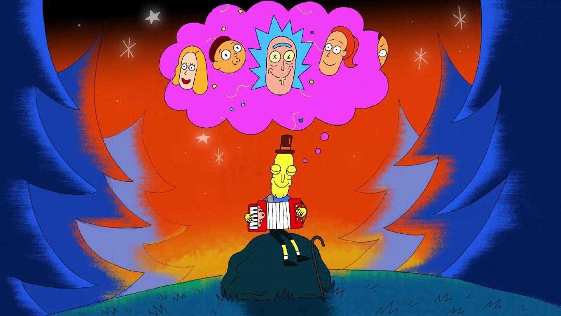 Rick and Morty - Accordion