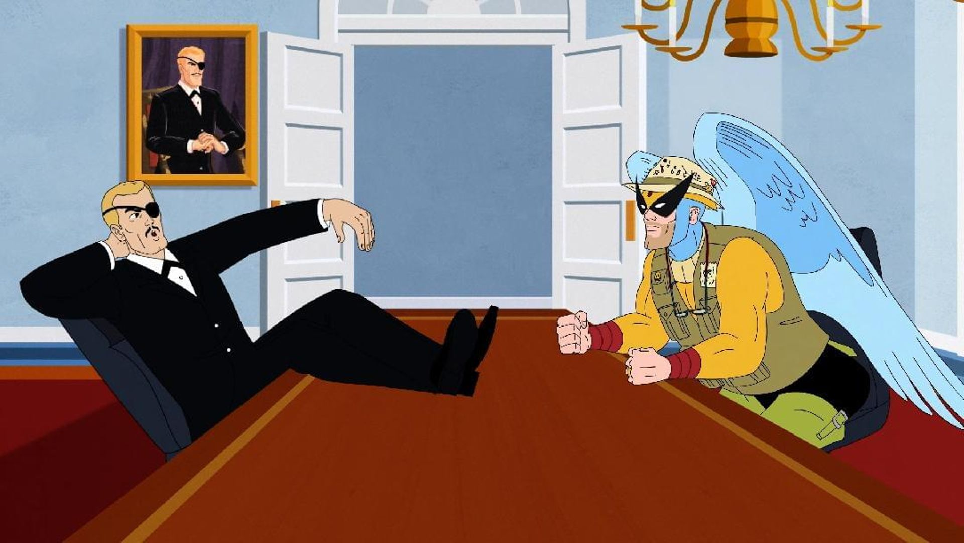 Harvey Birdman, Attorney at Law - Harvey Birdman Special Preview