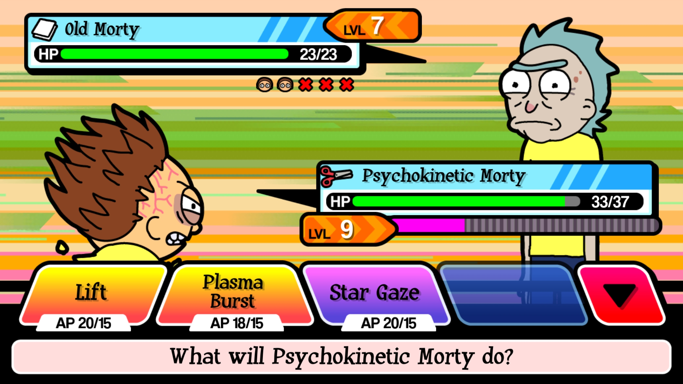 pocket morty s