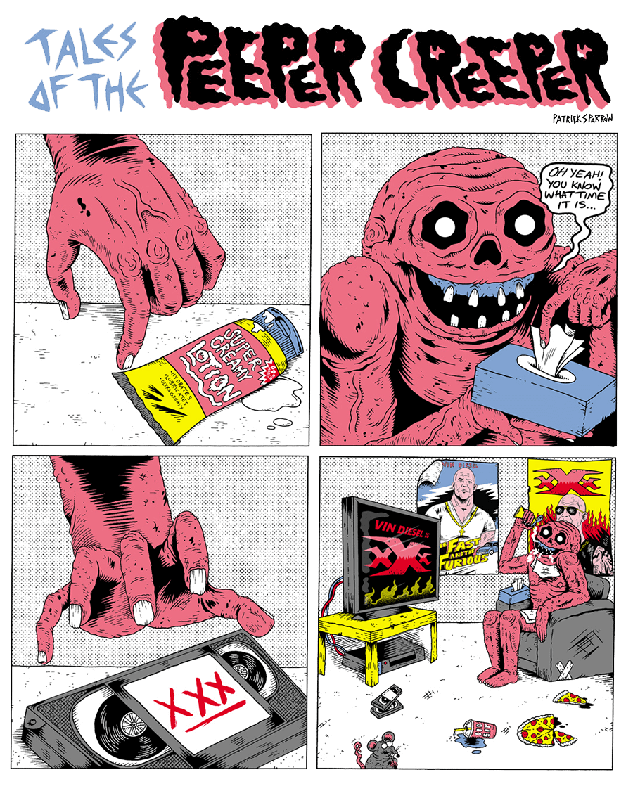 Tales of the Peeper Creeper by Patrick Sparrow