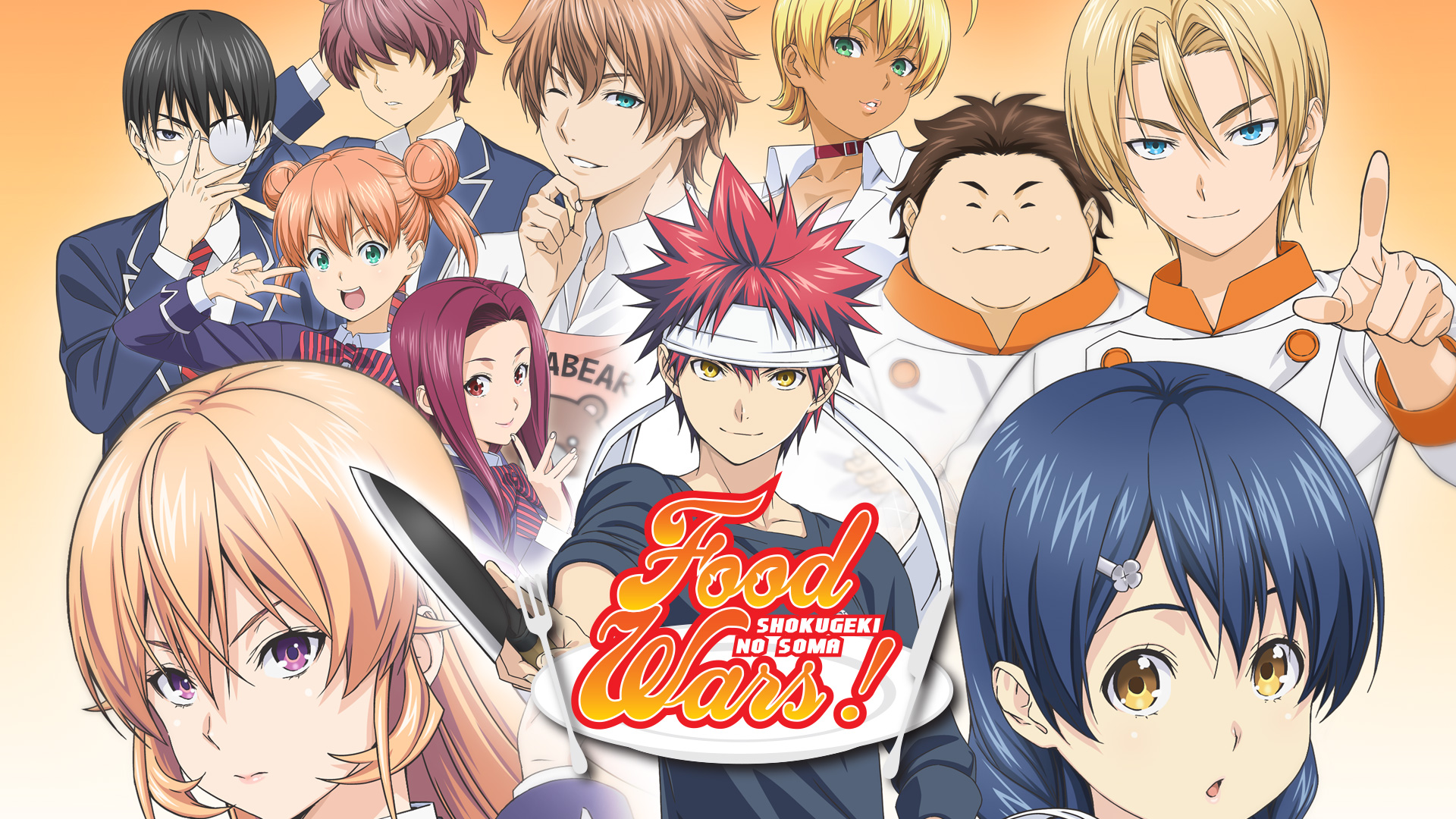 Food Wars Ikumi the silent bowl, the eloquent bowl - s1 ep7 - food wars!