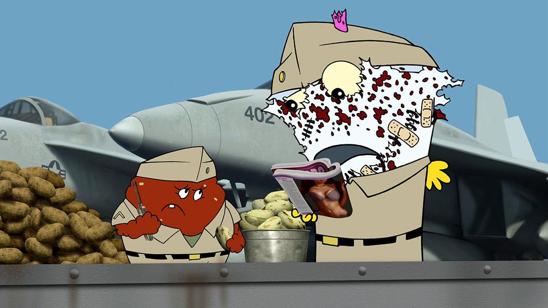Aqua Teen Hunger Force The Marines Adult Swim