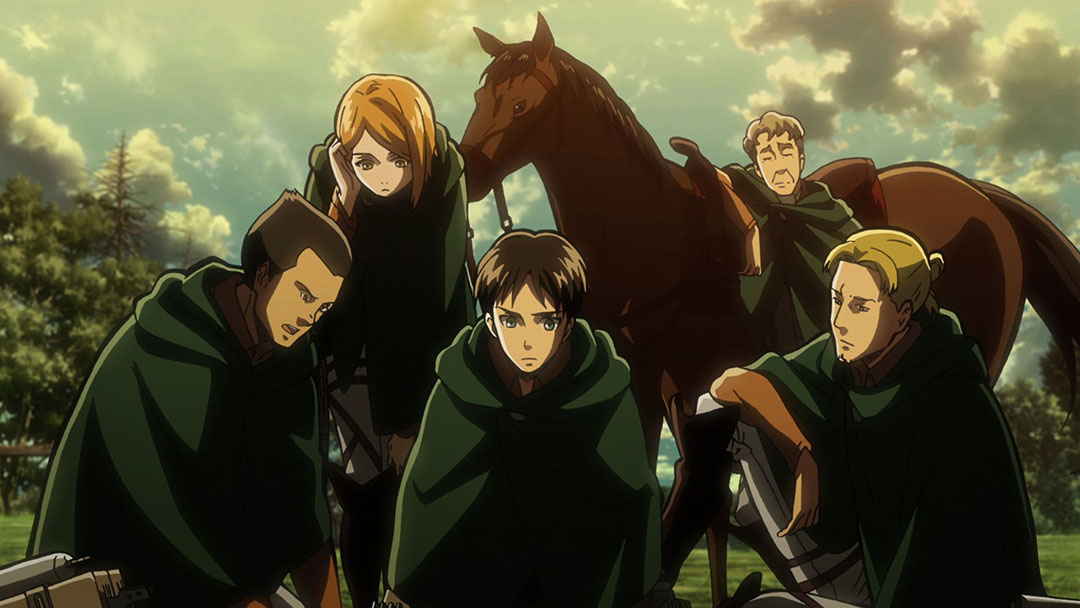 Image result for attack on titan scouts
