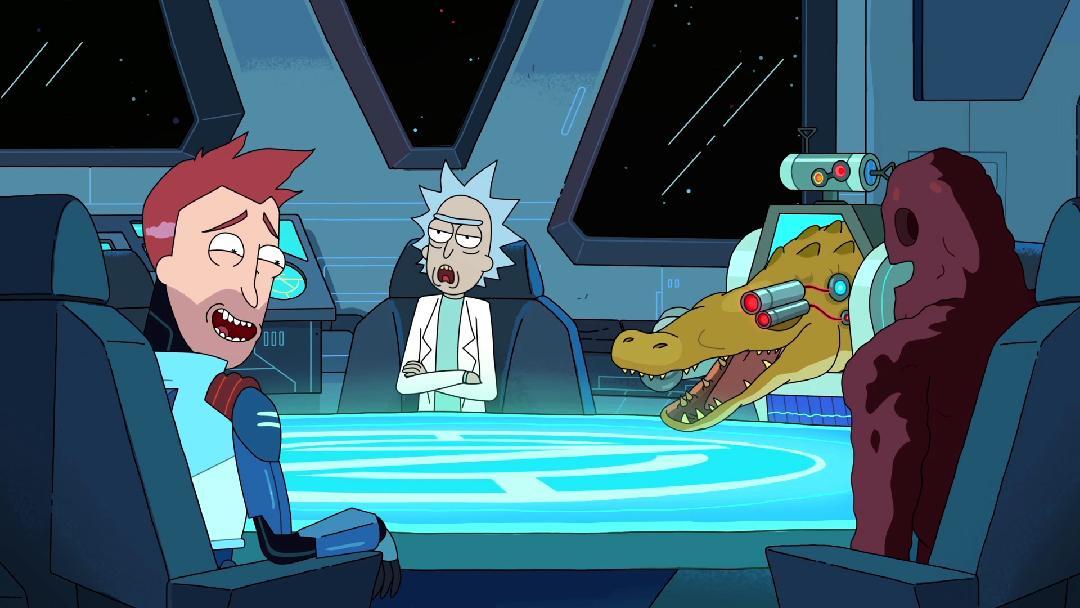 Rick og Morty - Inside Vindicators 3 tilbagelevering af-2522