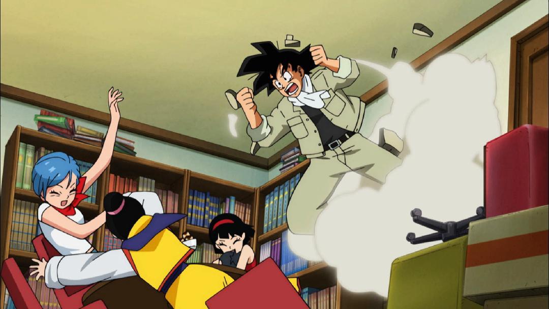 Dragon Ball Super Pan Is Born And Goku Goes On A