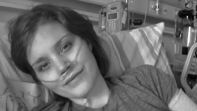 Eva Markvoort started her blog, 65_RedRoses, to document her  struggles with cystic fibrosis.