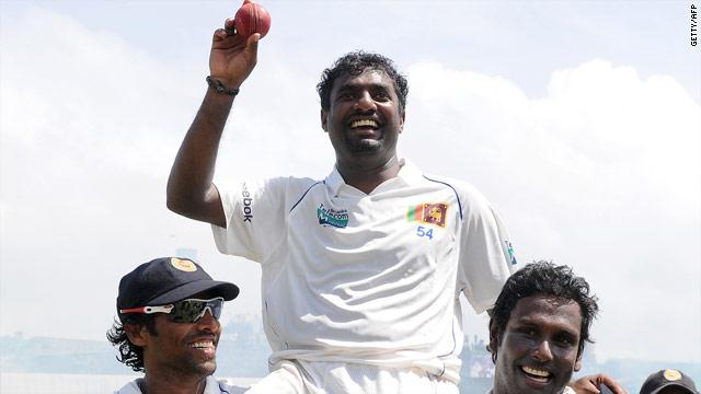 Muralitharan grabs 800th Test wicket as Sri Lanka thrash India ...