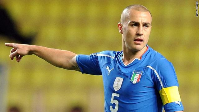 Italy captain Cannavaro makes shock move to Dubai side Al Ahli - CNN.com
