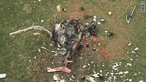 Tres personas murieron en un accidente de helicóptero médico.