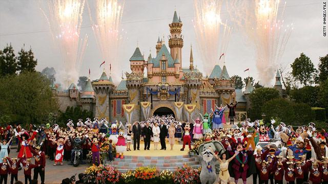 Disneyland Christmas Day