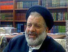العلامة السيد عبدالله نظام الذي يعد من أبرز علماء الشيعة في الشام