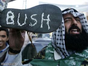 الشارع العربي شهد مسيرات تأييد لما قام به الزيدي