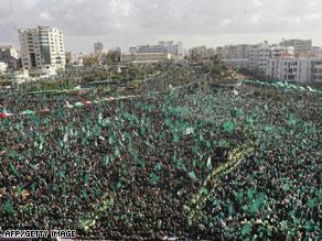 أحيت حماس ''حفلا يفوق التصور'' بمناسبة انطلاقتها