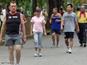 الركض الرياضة المفضلة للكثيرين