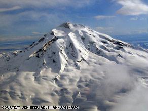 بركان ألاسكا على وشك الثوران