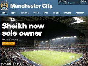 كما يفيد موقع النادي.. فقد أصبح ''الشيخ'' الإماراتي المالك الوحيد للنادي الإنجليزي