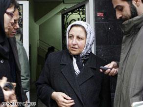شيرين عبادي تتعرض لمضايقات بسبب دفاعها عن ''بهائيين''