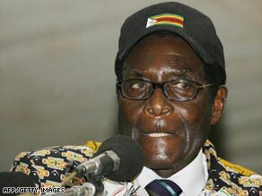 يقود موغابي البلاد منذ استقلالها من الاستعمار البريطاني