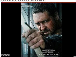 افتتح مهرجان كان الدولي بفيلم ''روبن هود''