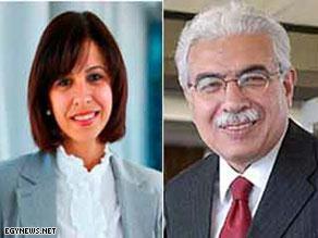 الدكتور أحمد نظيف والعروس زينب زكي