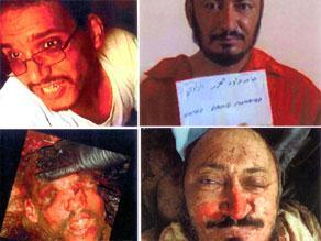 صور كشفت عنها الحكومة العراقية للبغدادي والمهاجر بعد مقتلهما