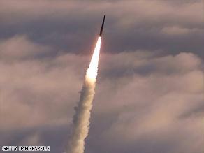 صاروخ يعمل بالوقود السائل