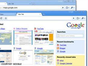 غوغل كروم يواصل تحقيق مكاسب في عالم المتصفحات.. وعلى حساب مايكروسوفت إكسبلورر