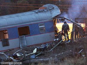 منم الهجوم الذي استهدف القطار في داغستان في وقت سابق