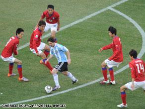ميسي نجح في قيادة المنتخب الأرجنتيني للفوز الثاني بمونديال 2010