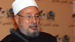 الداعية الإسلامي يوسف القرضاوي