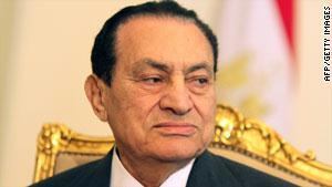 الرئيس المصري ينتظر المحاكمة