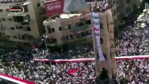 مظاهرات ضد النظام في سوريا