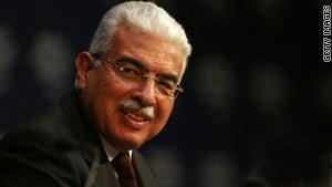 رئيس الوزراء المصري السابق أحمد نظيف